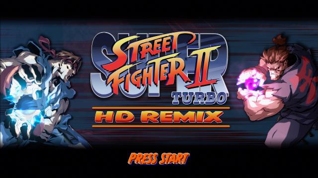 スーパーストリートファイター2 HD Remix
